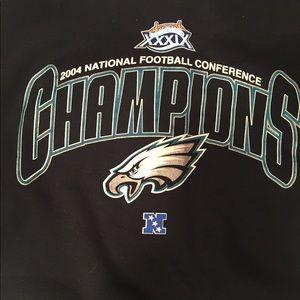 Shirts - Vintage Philadelphia Eagles pullover crewneck af8a55a17